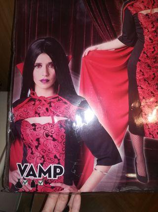 disfraz halloween vampiresa