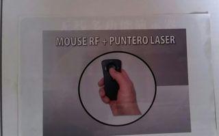 raton inalambrico con puntero laser