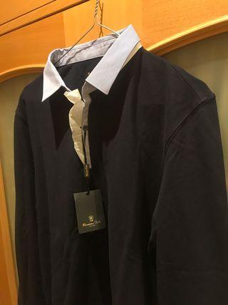 Polo manga larga Massimo Dutti