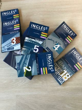 Ingles Vaughan, 40 libros y cd