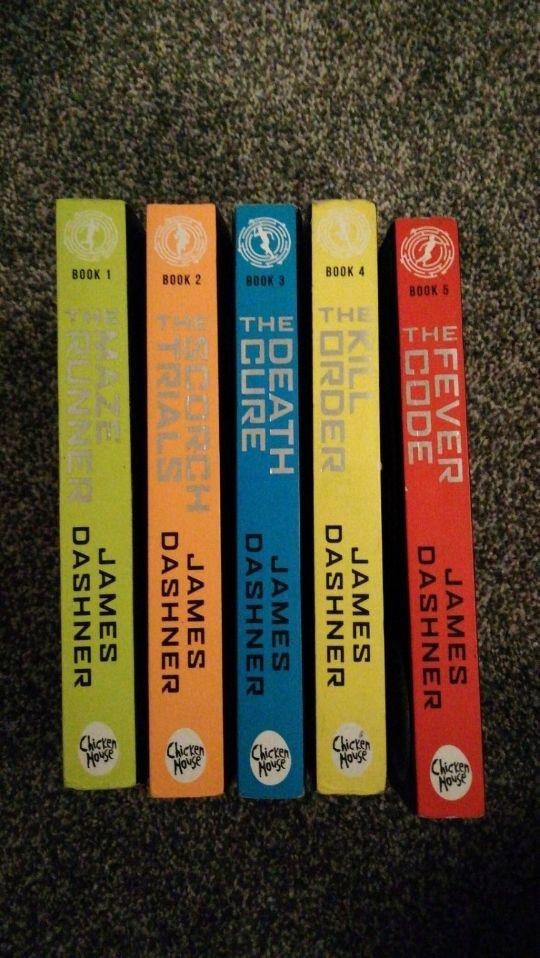 full set of maze runner books