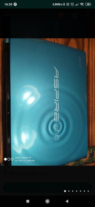 Portátil Acer Aspire One 722