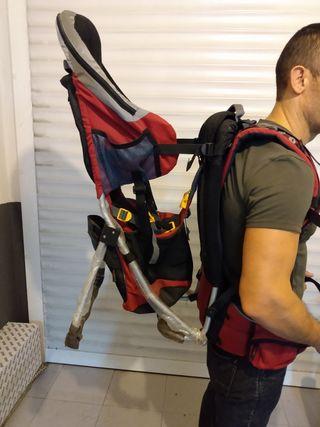 mochila para montaña portabebes