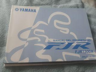 manual yamaha fjr 1300