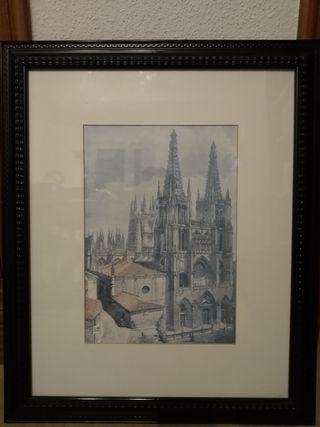 cuadro catedral de Burgos