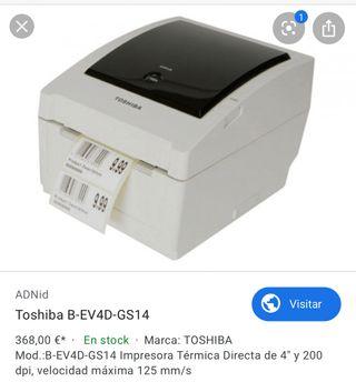 Impresora transferencia termica toshiba etiquetas