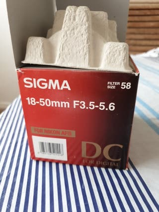 Objetivo Sigma 18-50 f3.5-5.6 DC para Nikon AFd