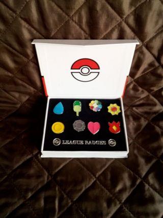 League Badges Pokémon