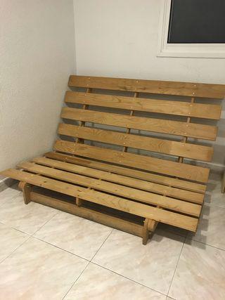 Estructura sofá cama - Futón