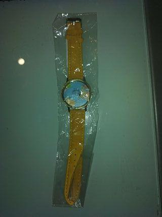 reloj bola mundo