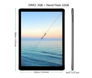 Tablet 10.1 Pulgadas 4G LTE, Android 7.0 Tablet PC