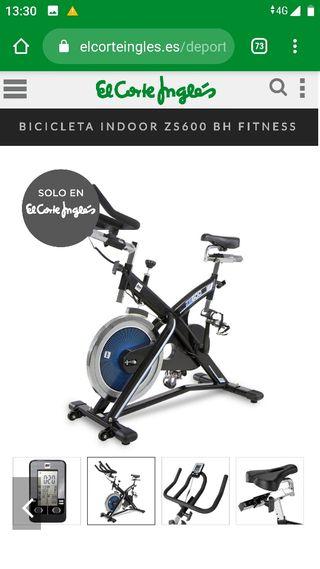 Bicicleta de Spin. BH Zs6000 sin usar.Seminueva!