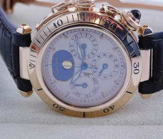 Cartier Pasha oro de caballero
