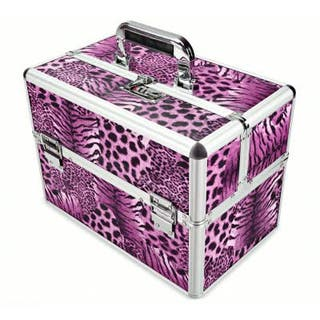 maleta maletin compartimentos manicura peluqueria