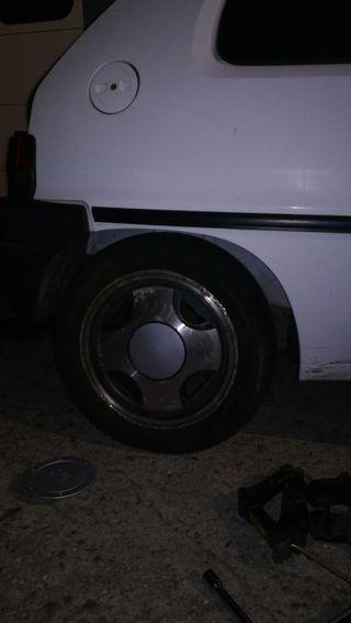 4 llantas Ax GT 3 tornillos 14 pulgadas