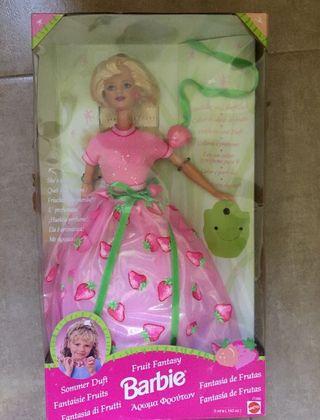 Muñeca Barbie princesa Fantasía de Frutas