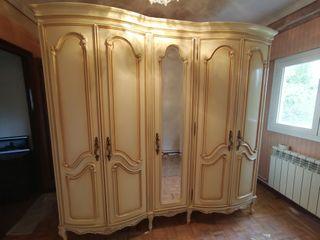Conjunto de dormitorio vintage francés.