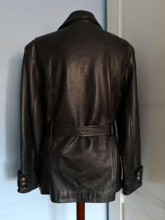 chaqueta de cuero vintage