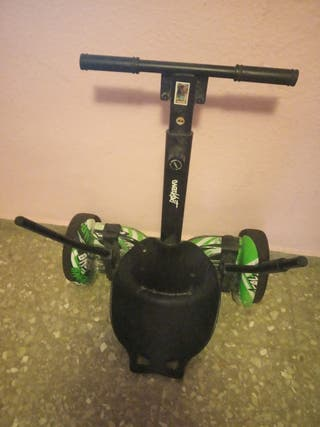hoverboard y silla