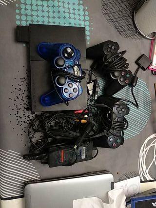 PS2 con 3 mandos y swap magic