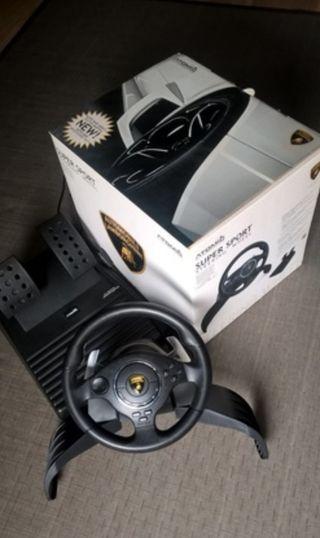 Volante Lamborghini Play Station & Ordenador