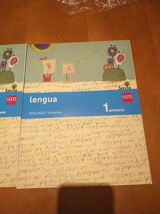 libro lengua primero primaria.SM