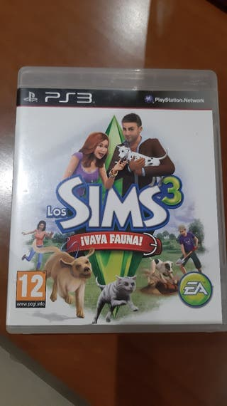 los sims 3 vaya fauna PS3