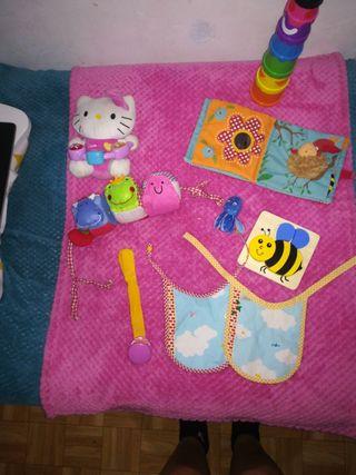 lote de juguetes bebé