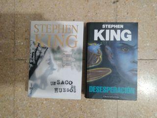 Lote de novelas de Stephen King