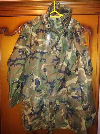 OFERTA!!!! chaquetón militar de intemperie.talla 3