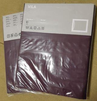 2 fundas de almohada Ikea