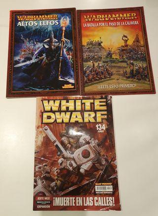 3 Libros Warhammer