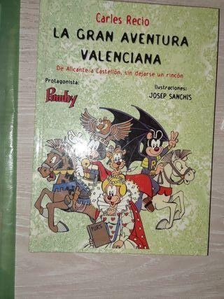 LIBRO LA GRAN AVENTURA VALENCIANA