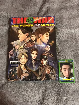 album kpop exo the war: the power of music