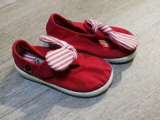 zapatillas niña talla 21 marca victoria