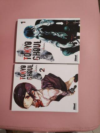Tokyo Ghoul vol. 1 & 2