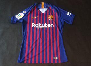 match worn FCB aleña Barcelona camiseta vs celta