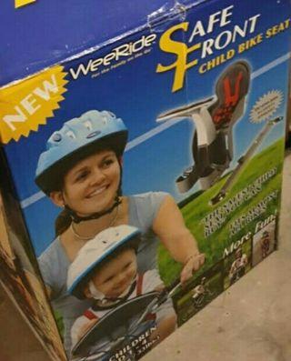 silla bicicleta delantera weeride