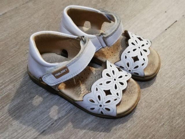 sandalia niña talla 22 pablosky