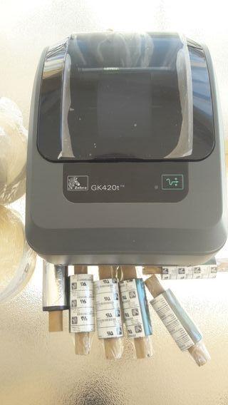 Impresora Zebra Gk 420t
