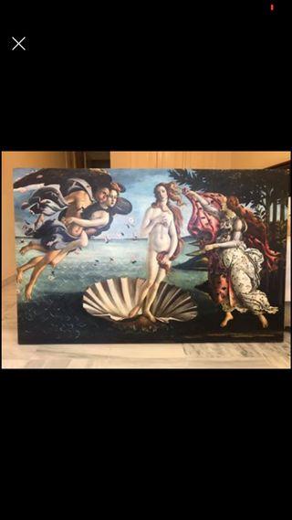 Cuadro nacimiento de Venus