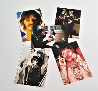 The Beatles 5 postales.