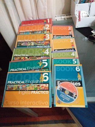 6 libros y 5 cuadernos de ingles