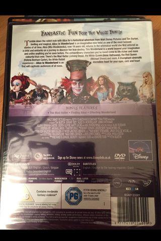 DVD/ALÍCIA EN EL PAIS DE LAS MARAVILLAS