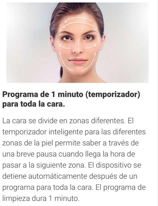 Visa pure Essential cepillo facial