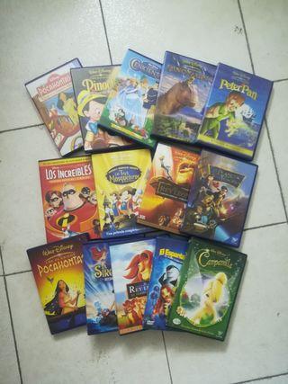 10 DVD DISNEY