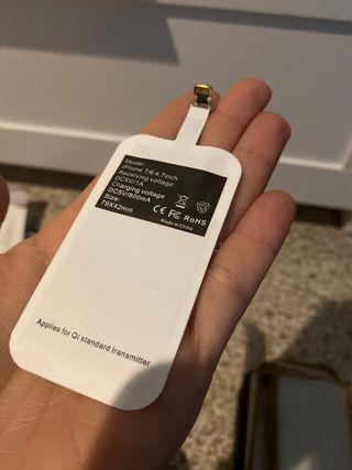 Tarjeta carga inalámbrica iPhone 5/6/7