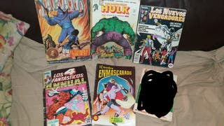 Pack 5 cómics retro