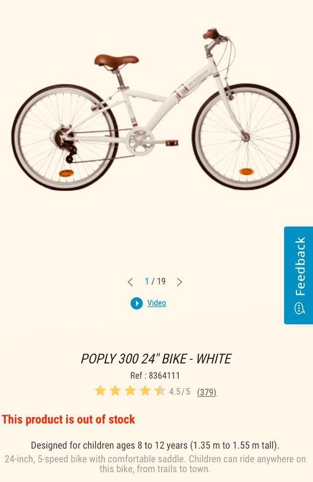 Bicicleta de niña ( 8-12 años)