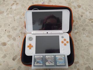 Nintendo New 2ds XL + MARIO KART y + juegos